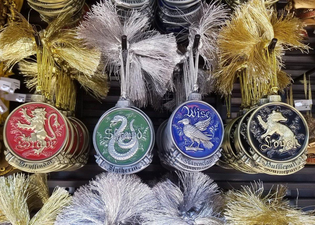 Harry Potter Christmas Ornaments Universal Studios.Hedgehog S Corner On Twitter 4 New 2018 Harry Potter Metal