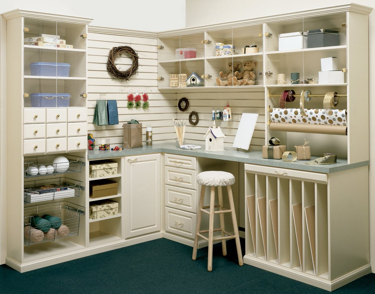 You Can Make Your Space Feel Brand New By Adding Shelving And Cabinets, And  A Little Bit Of Rearranging. Https://www.closetsbydesign.com/ #Organize ...
