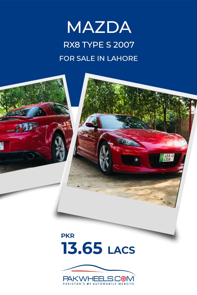Pakwheels Com On Twitter Looking For Mazda Rx8 More Details