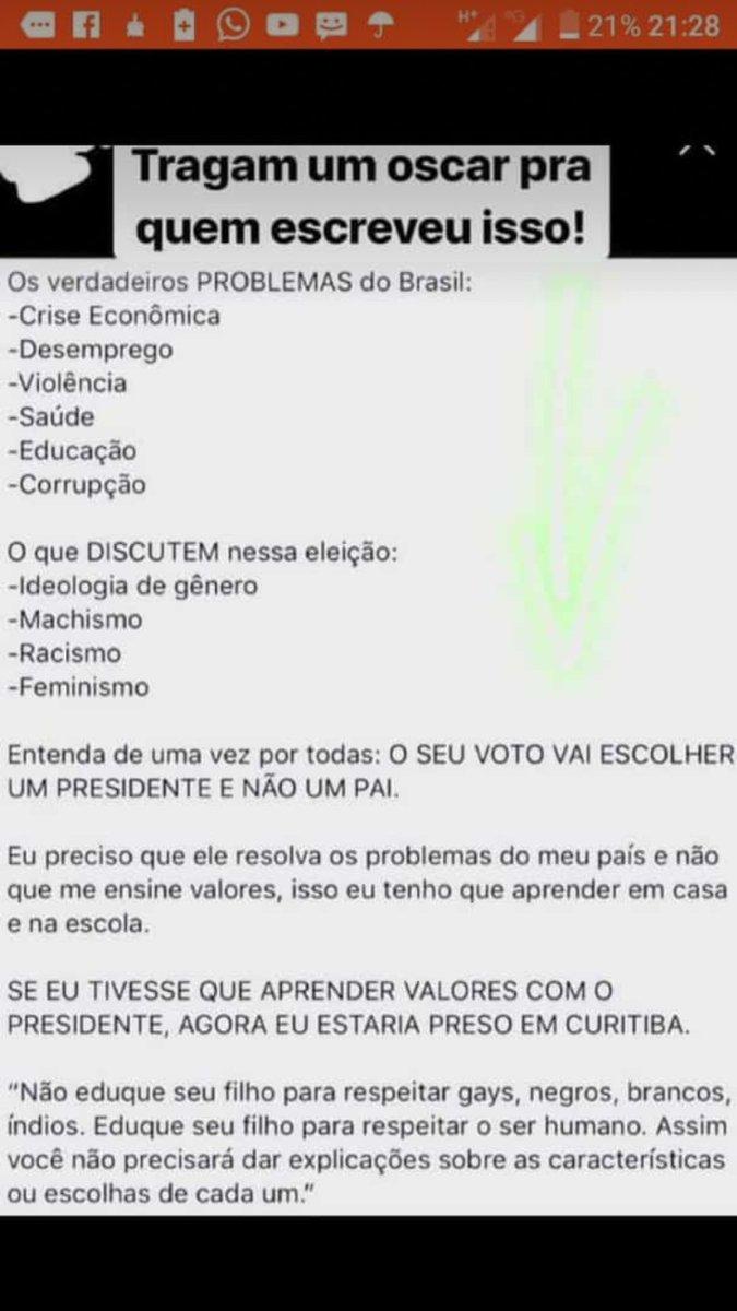 Abominável Homem das Neves s tweet -