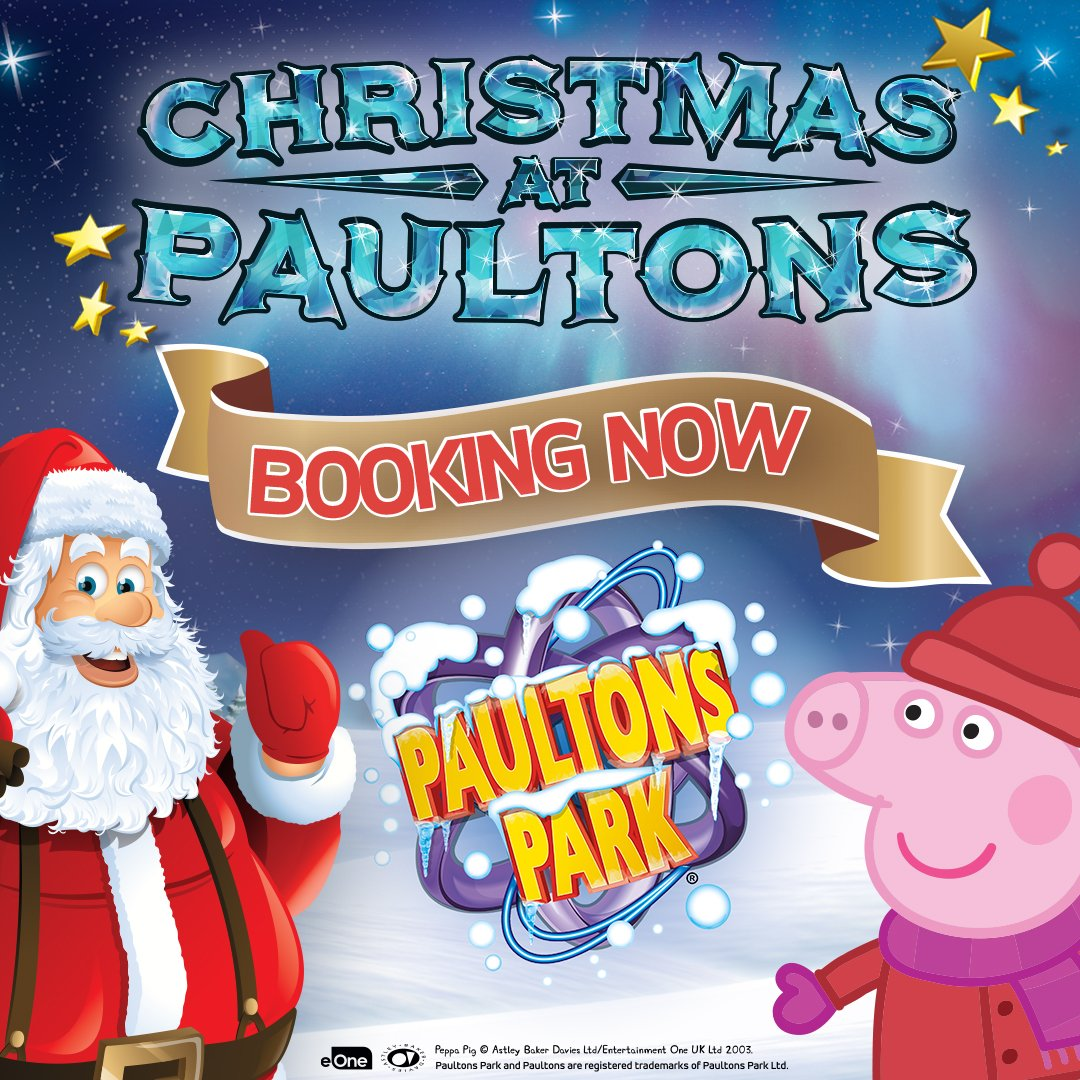 Paultons Theme Park On Twitter Christmas Is A Special Time Of