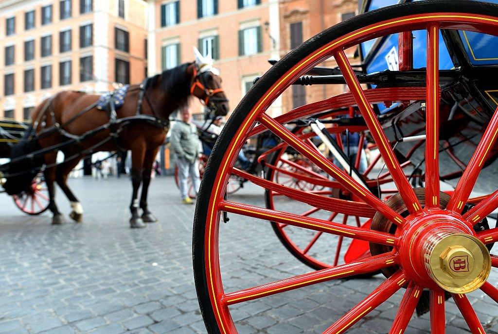 #Roma, addio alle #Botticelle: stop a nuove licenze. Sì dalla Commissione Ambiente del Comune alle nuove regole per le storiche carrozzelle trainate da cavalli. Ci sarà la possibilità di convertire le licenze per vetturini in quelle per taxi -  → https://t.co/jf54G3wVJI