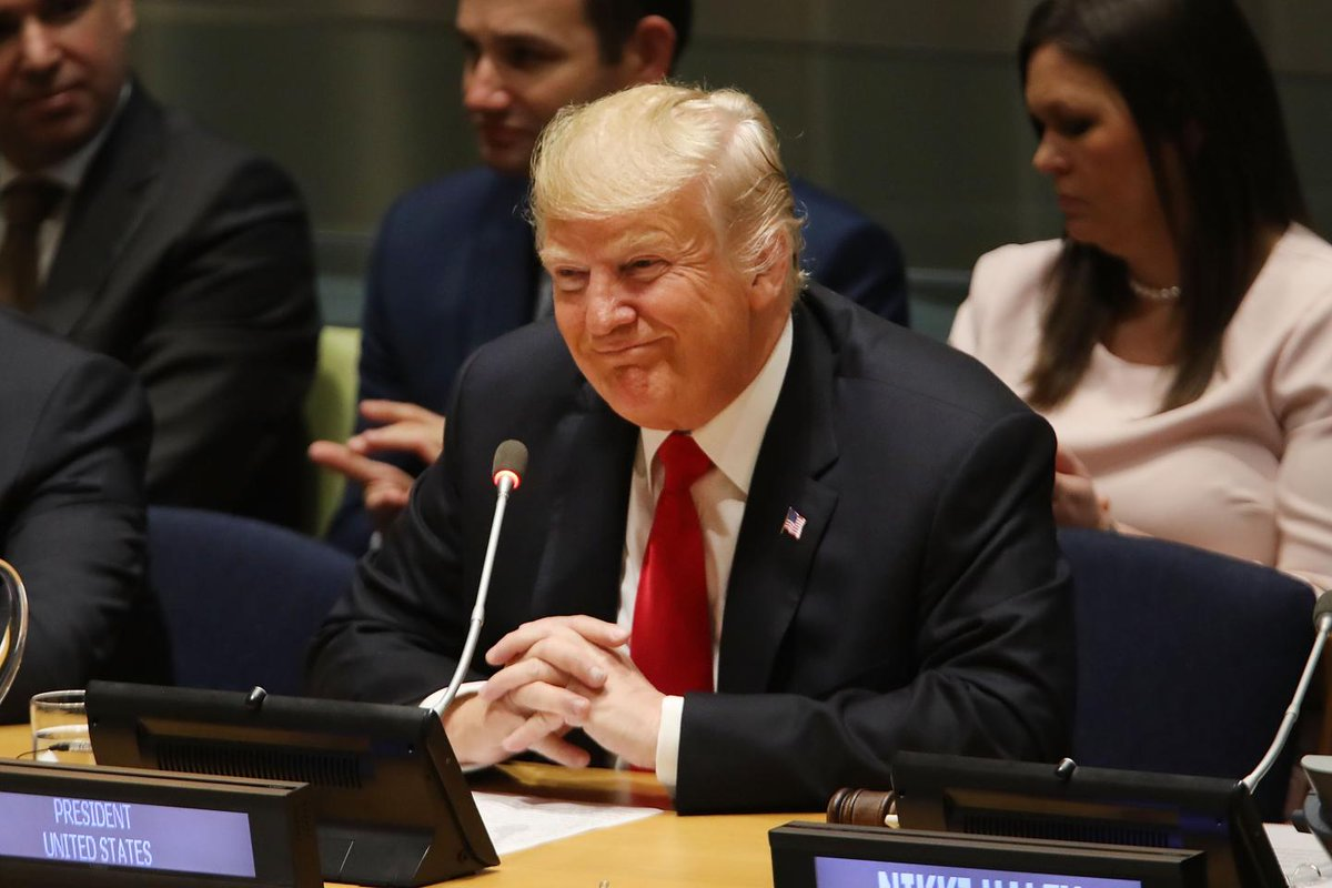 Watch: Donald Trump laughed at by U.N. General Assembly for claiming his administration is greatest in history https://t.co/FAgcWsncrF