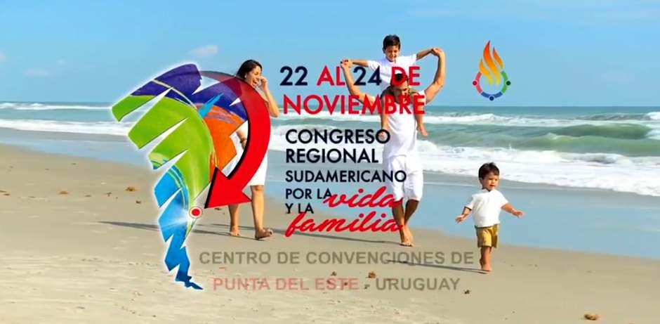 Resultado de imagen para Sorpresivamente Ministerio de Turismo de Uruguay revoca declaratoria de interés a Congreso por la Vida y la Familia
