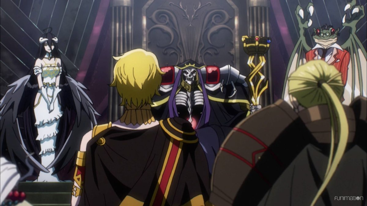 Kill Fearlips On Twitter Overlord3 Simuldub Ep 9 Is Live Emperor Jircniv And His Entourage Give Nazarick A Visit They Re Awed By Ains Power Especially Fluder Jircniv Suspects There S A Traitor