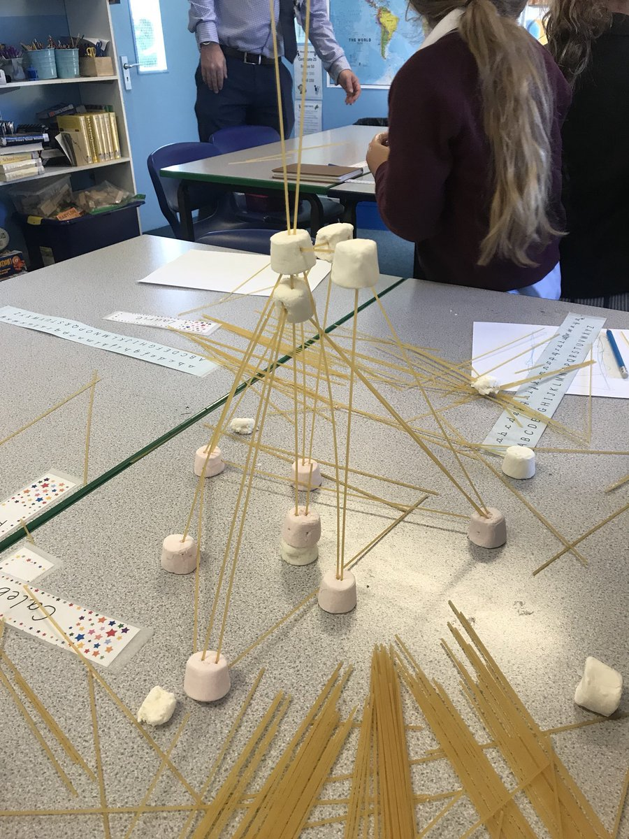 St Dunstan S College Virtualsdc On Twitter The First Stdunsjunior Stem Club Took Place Today One Of The First Tasks Involved A Spaghetti And Marshmallow Tower Challenge Stem Https T Co Mqac9u0k5i
