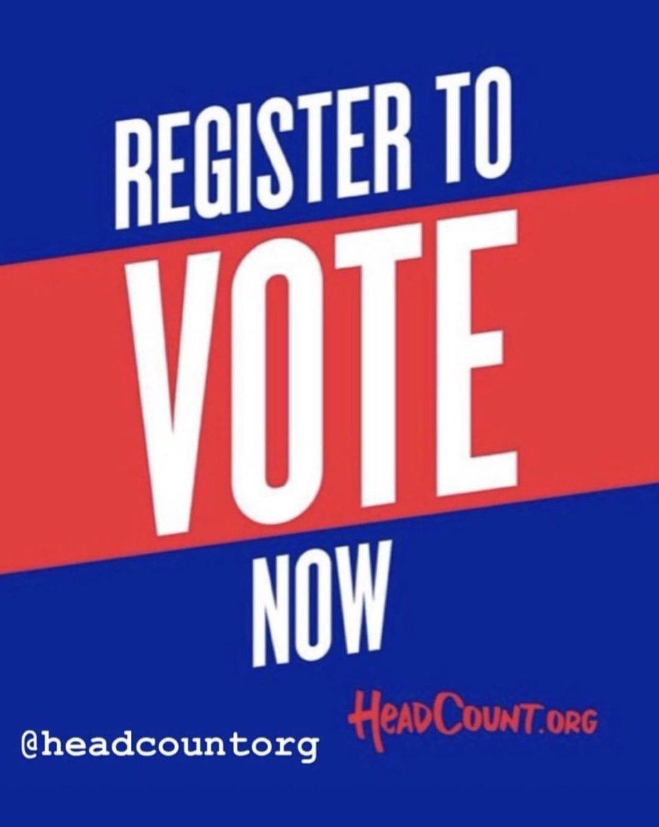 REGISTER TO VOTE!! RT THIS! https://t.co/OuRNbiZhQG REGISTER! REGISTER! ✔️🇺🇸