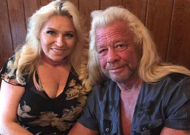 """Dog the Bounty Hunter"" Duane & Beth Chapman discuss bail reform & Dog joining the hunt for the fugitive who threatened Trump! See Dog & Beth today on Newsmax TV @ 2:30PM ET via Directv 349, Dish 216, Uverse 1220, Fios 615, info:   https://t.co/6eLEBWf2nW@DogBountyHunter@MrsdogC"