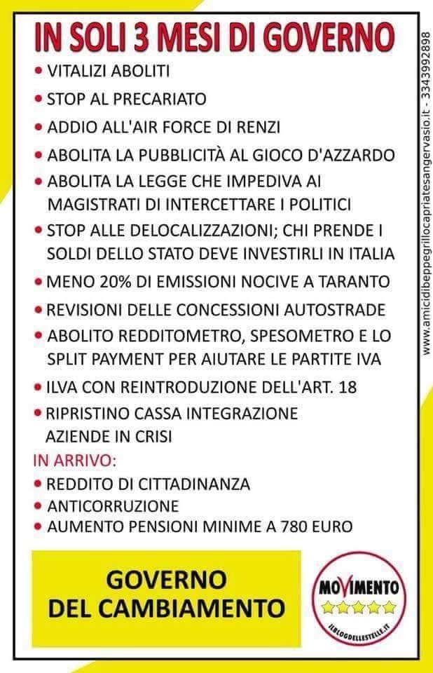 #Bufale che girano sui profili #m5s su #Ilva #Taranto. Il #governo avrebbe ridotto del 20% l\