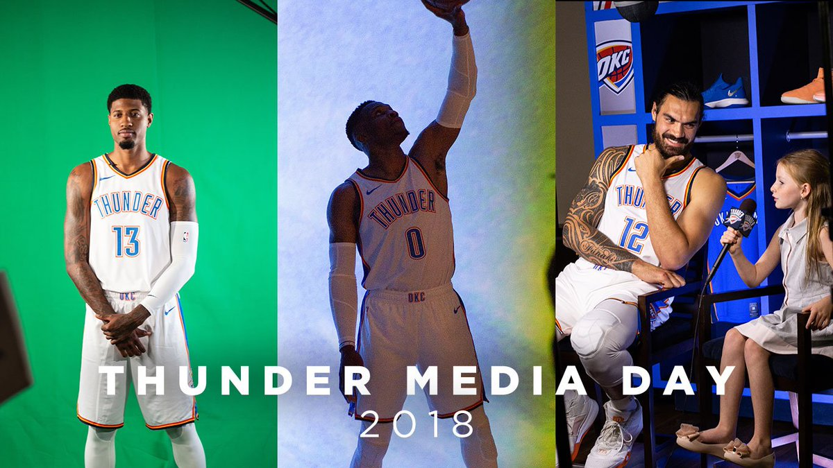Play-by-play of #ThunderMediaDay   @USCellular Training Camp   📝: https://t.co/SqiQfweXwX