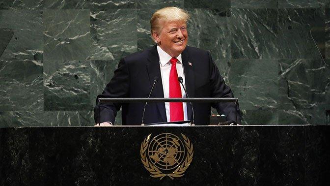 Речь Трампа на Генассамблее ООН встретили смехом:  https://t.co/lxKQNVj26Q