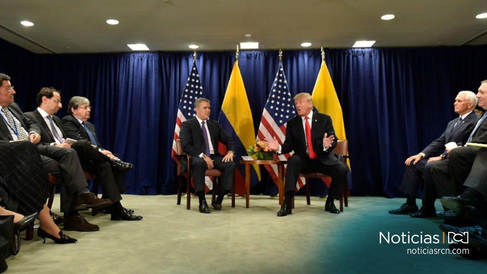 Un golpe militar contra Maduro podría triunfar 'rápidamente': Trump durante reunión con Duque https://t.co/RjOCwBqh2Q