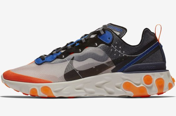 The Nike React Element 87 Thunder Blue Total Orange Debuts This Fall Season - https://t.co/hhowDyACGT https://t.co/4SsNEuVhKx