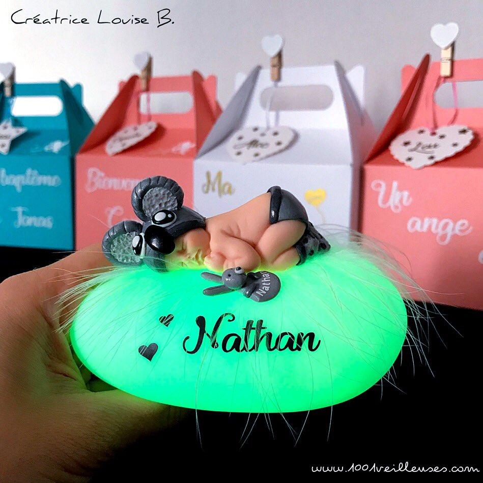 """Cadeau Rigolo Baby Shower cadeau original pour bébé on twitter: """"une veilleuse unique"""