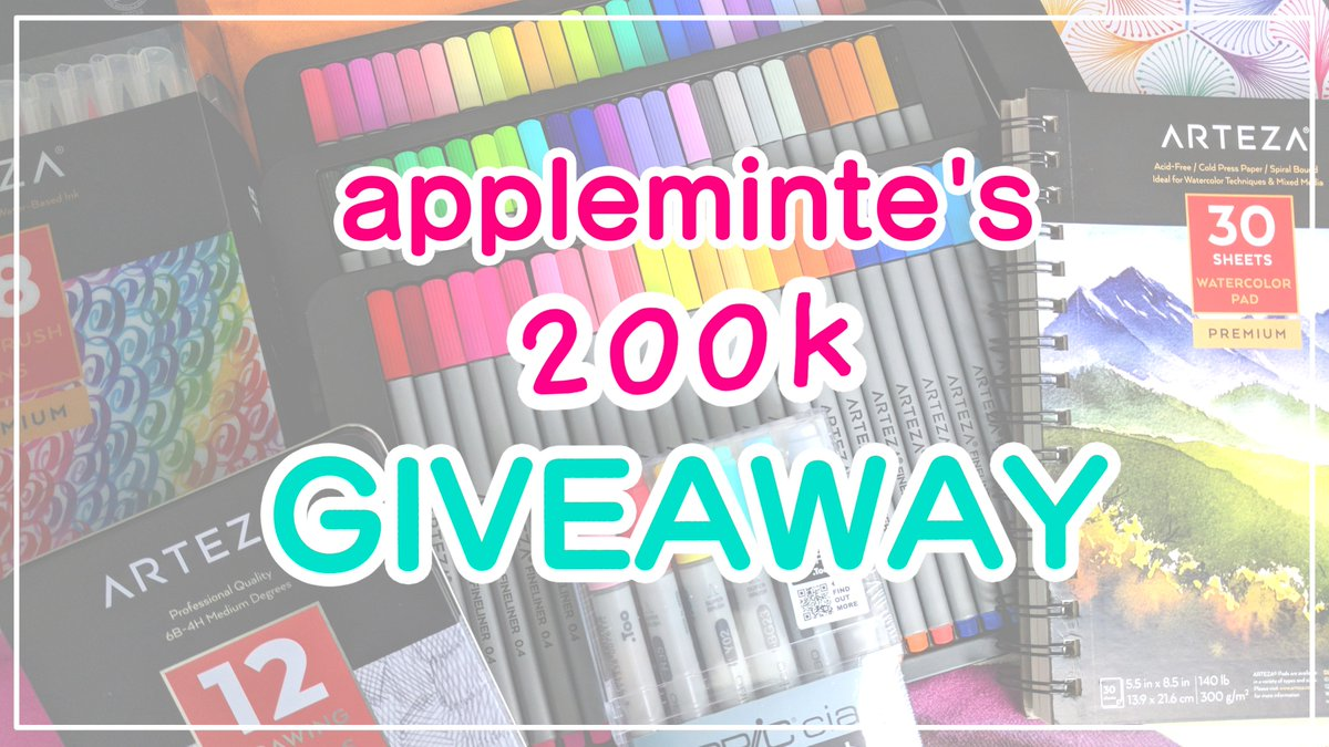 Thank you for 200k subscribers! Please follow the link to enter my GIVEAWAY! Entry is free, and ends 11:59pm EST on October 21. Good luck! :) goo.gl/4nPtME