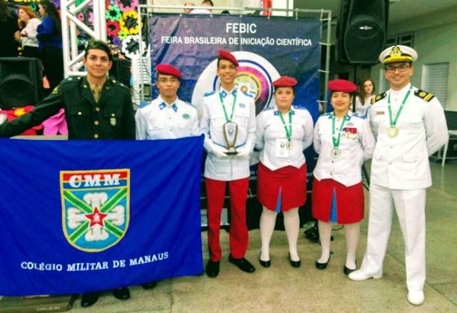 Alunos do Colégio Militar de Manaus conquistam 1º lugar na III Feira Brasileira de Iniciação Científica https://t.co/BCSPWtgdws