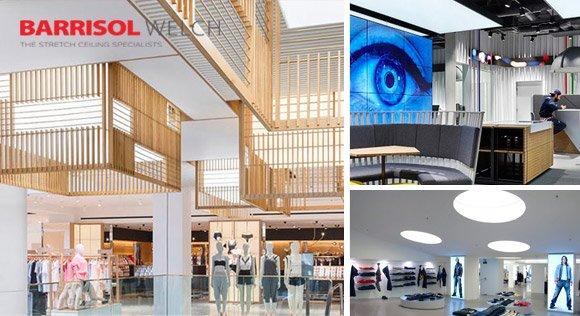 Competition on the high street is fierce with retailers vying for attention. But how do you stand out from the crowd?  Find out how we do it: http://www.barrisolwelch.com/2015/03/retail-illumination/…  #Barrisol #StretchCeiling #RetailLighting #LightingDisplays #InteriorDesign #TuesdayThoughts
