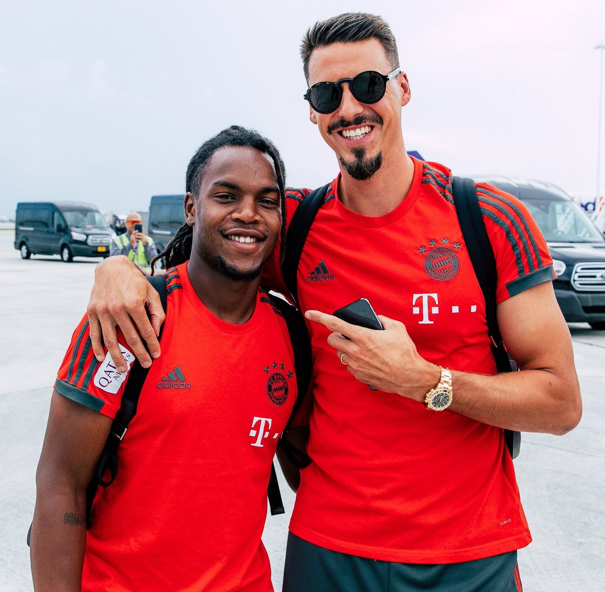 Bayern Germany On Twitter Sandro Wagner And Renato Sanches Will