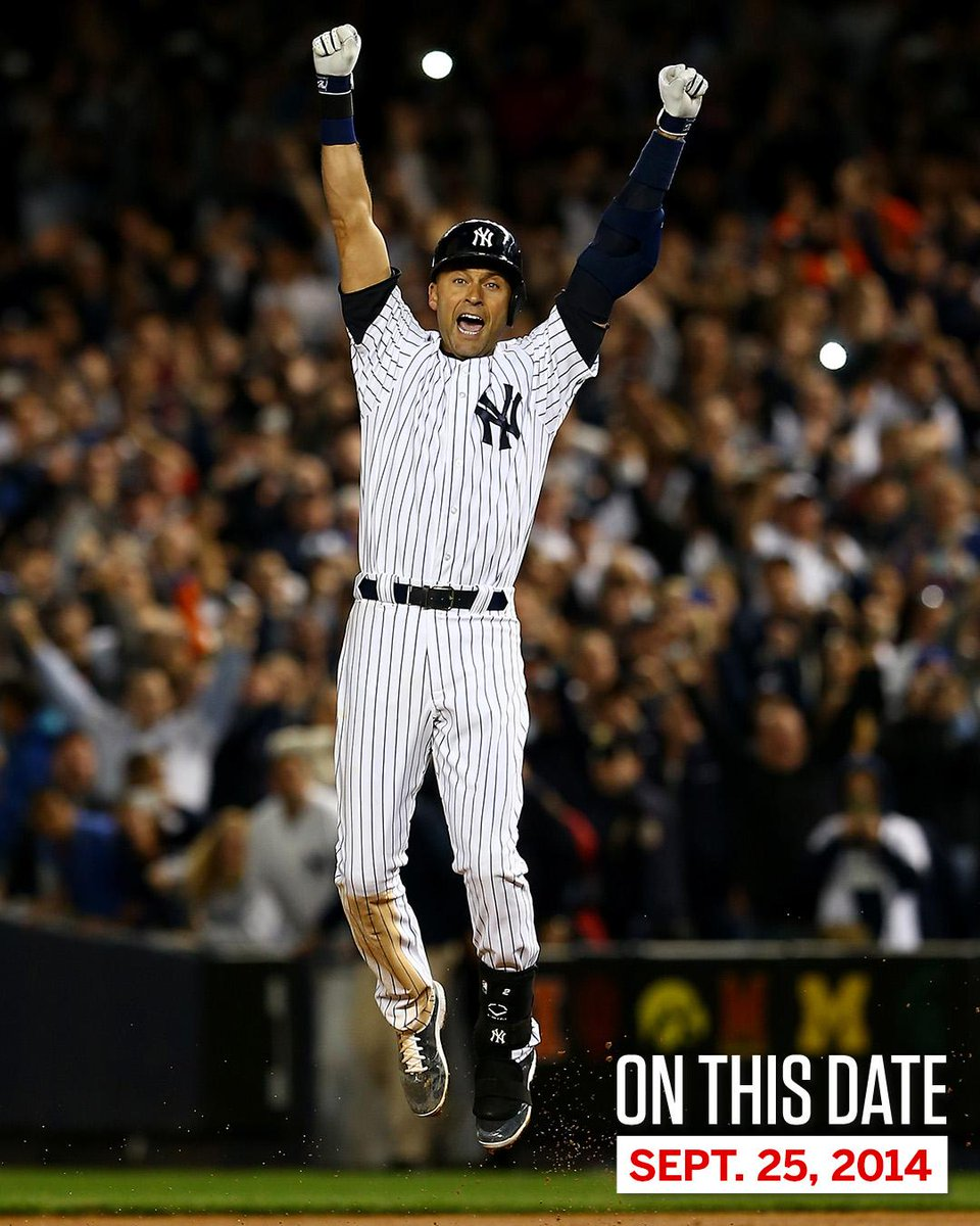 On This Date: In 2014, Derek Jeter walked off in his final game at Yankee Stadium.