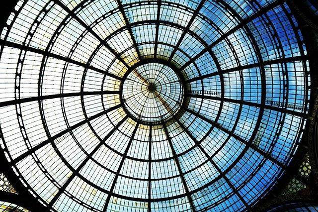 Glass Roof, Galleria Vittorio Emanuele II in Milano via Instagramhttp://j.mp/2IhjBaH#milan #milano #italy #italia #architecture #history #travel #roof #glass #atrium #instagram #photography  - Ukustom