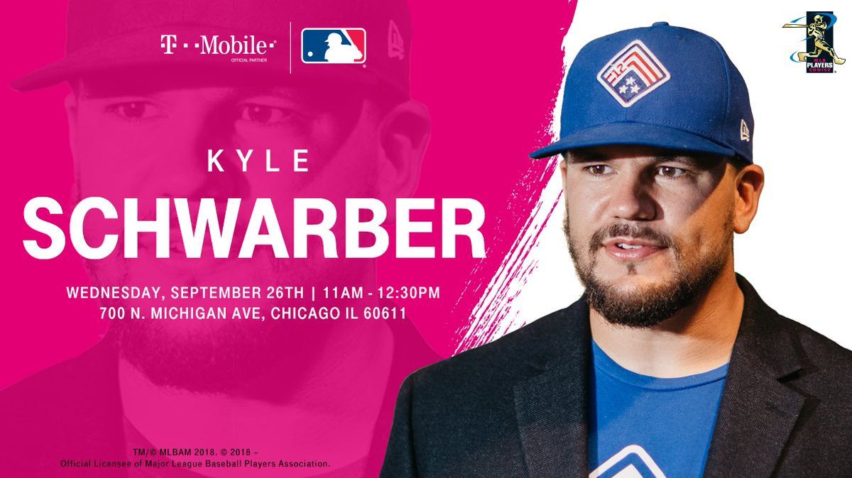 Kyle Schwarber On Twitter Chicago Head To The Tmobile