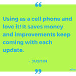 Cut back on expenses by using Fongo for your communication needs #TestimonialTuesday #SaveWithFongo