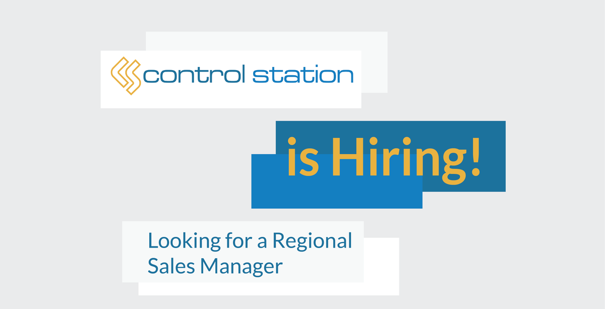 Control Station is still accepting applications for the Regional Sales Manager at our #CT office! Don't miss this opportunity. #Hiring #Sales #jobsearch #JobOpening #careers #NowHiring