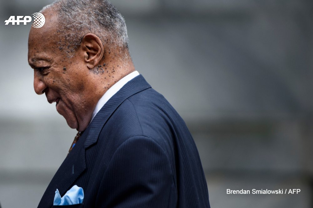 #BREAKING US actor Bill Cosby sentenced to three to 10 years in prison