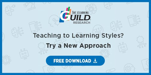 Does Tailoring Instruction To Learning >> Elearning Guild On Twitter Is Tailoring Your Instruction To