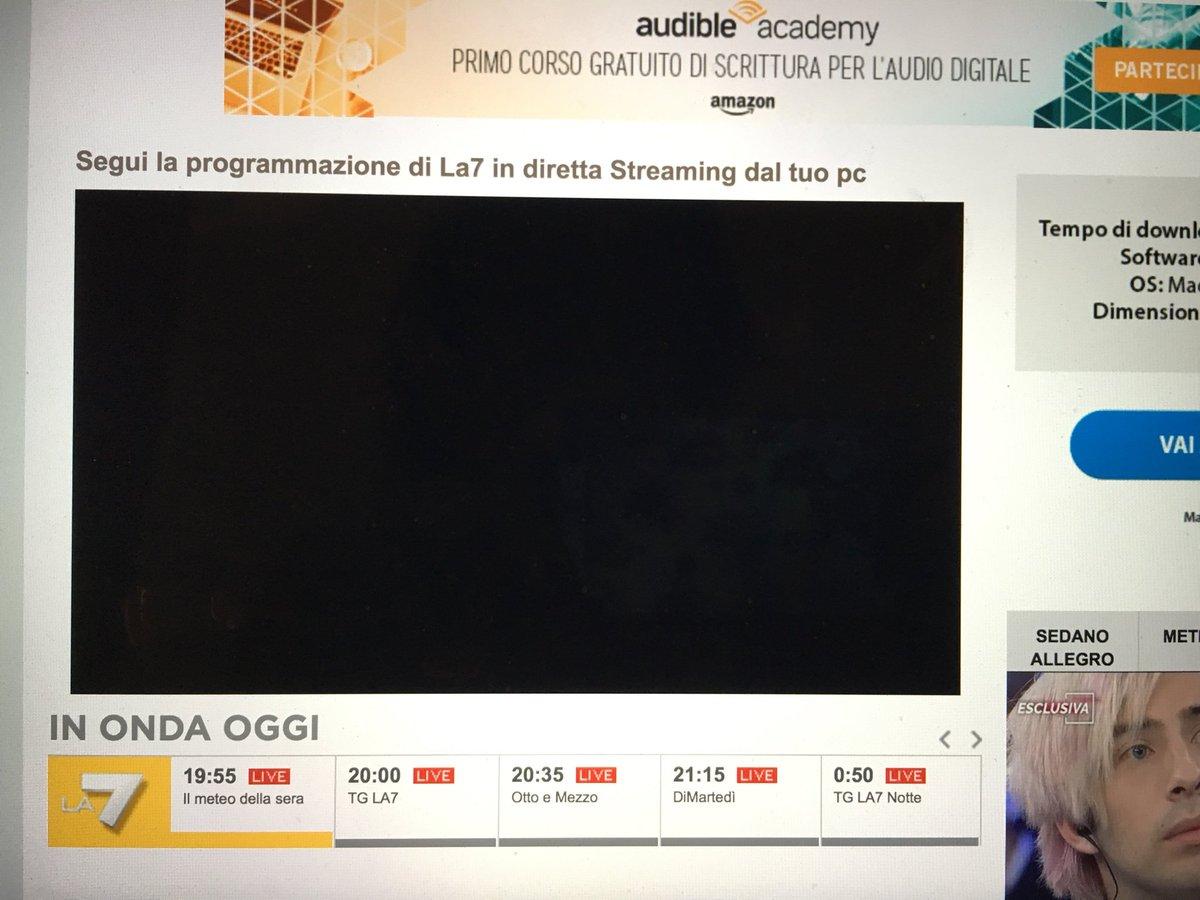 @La7tv @matteorenzi #ottoenezzo #la7 Comunque io in streaming vedo così.Che devo fa'?  - Ukustom