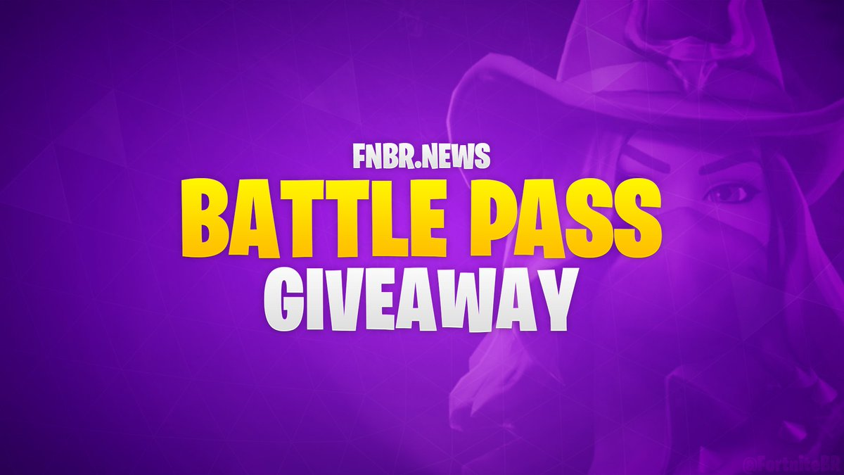 To celebrate Season 6 and the launch of http://fnbr.news, we've decided to give away a Battle Pass to five lucky winners! To enter:  - Follow @FortniteBR - Retweet  Winners will be picked & announced on September 27. Good luck!
