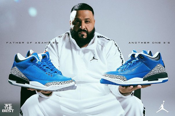 best sneakers 05b9e 61609 its here dj khaled unveils his air jordan 3 another one and father of asahd  colorways