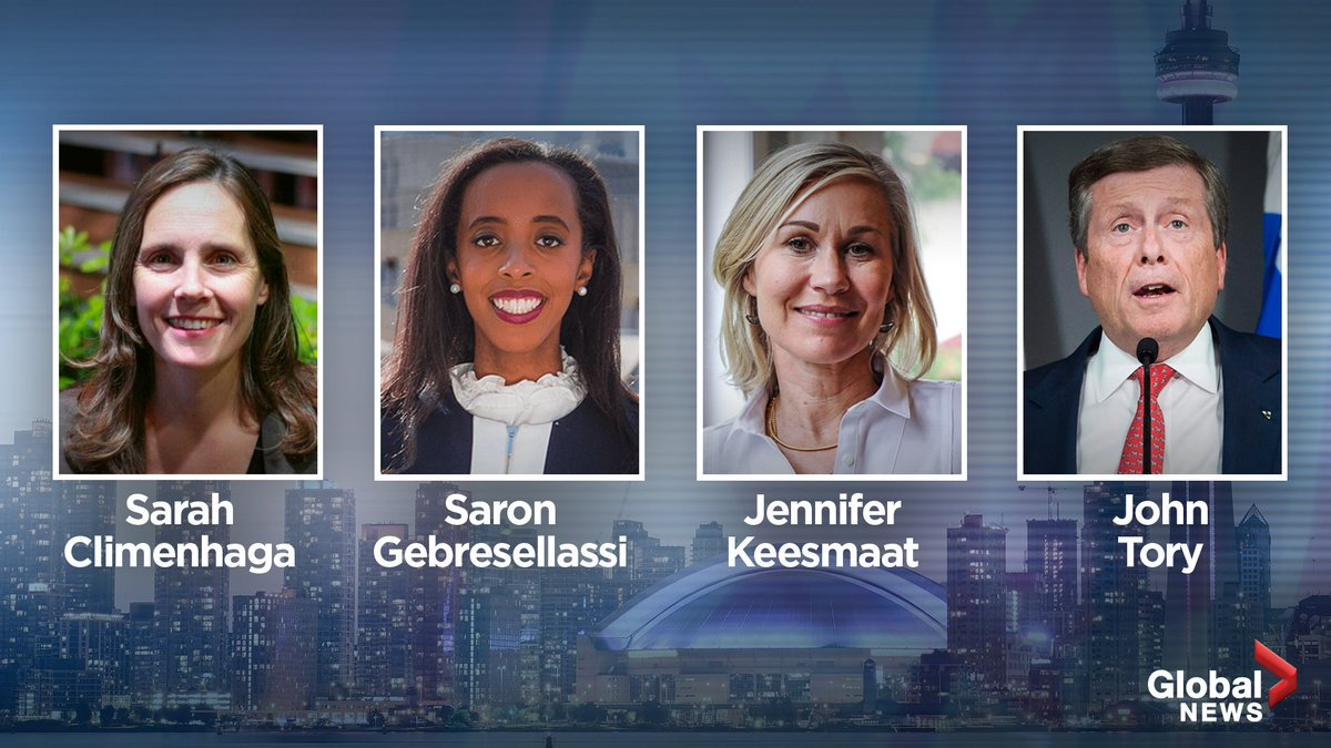 640 Toronto On Twitter Watch As Four Mayoral Candidates