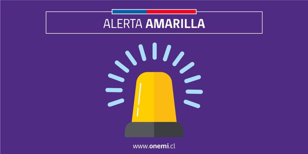 RT @onemichile #ONEMIBiobio Monitoreo #Alerta Amarilla para la comuna de Alto Biobío por actividad del volcán Copahue. Infórmate en https://t.co/vYgUllZd39