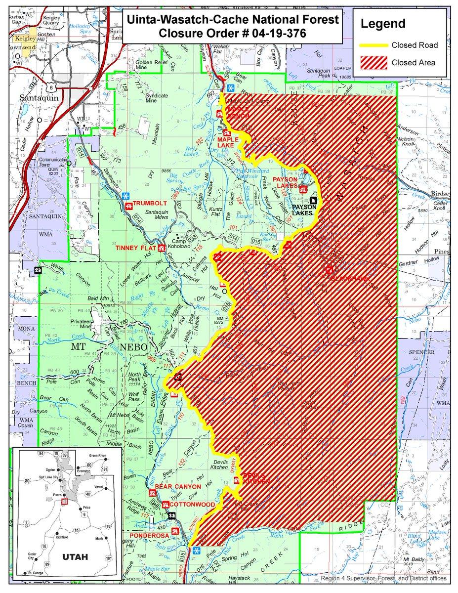 Utah Fire Info On Twitter Uwcnf Effective September 13 2018 An