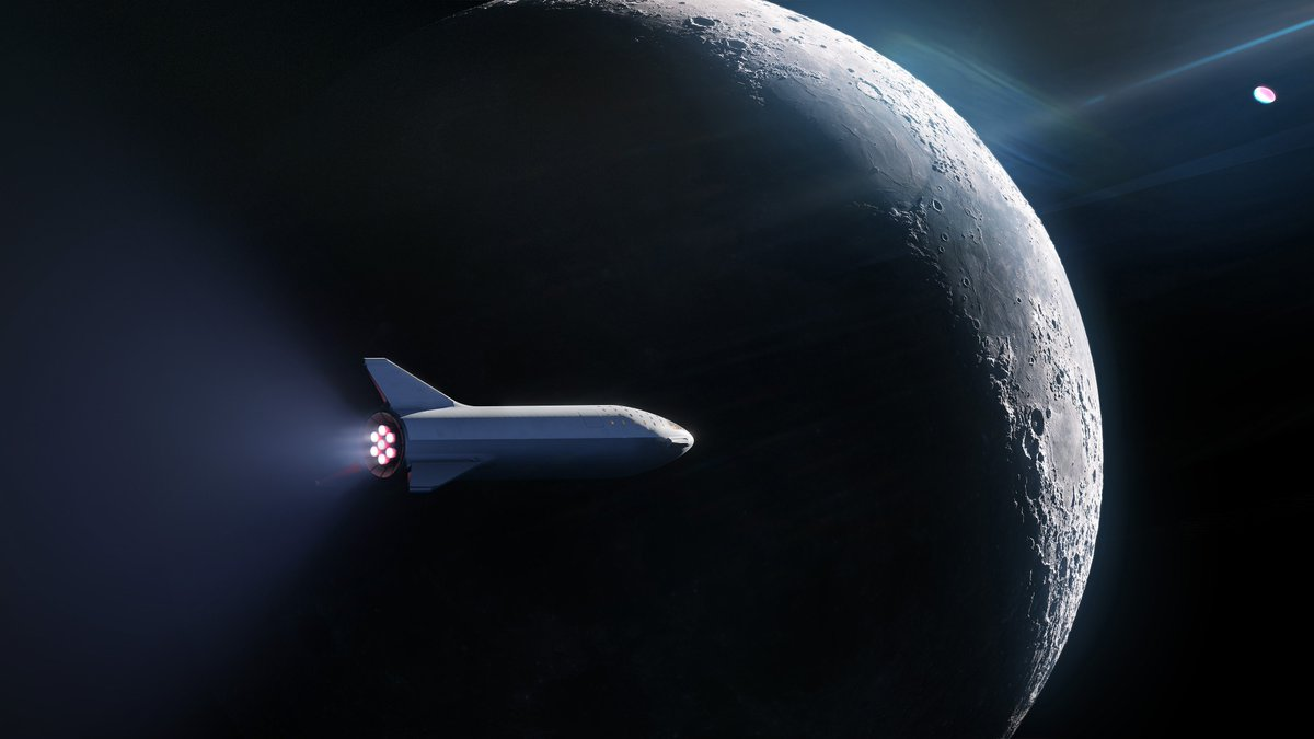 SpaceX has signed the world's first private passenger to fly around the Moon aboard our BFR launch vehicle—an important step toward enabling access for everyday people who dream of traveling to space. Find out who's flying and why on Monday, September 17.