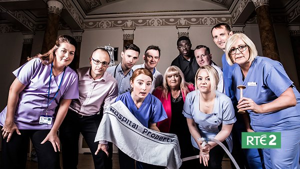 ** One to Watch ** Enter the heart warming, heart breaking, hard working halls of #TheRotunda #RTE2