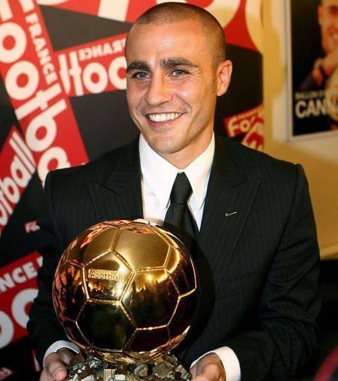 Happy birthday to the only defender to win the Ballon d\Or in the 21st century. Fabio Cannavaro turns 45 today.