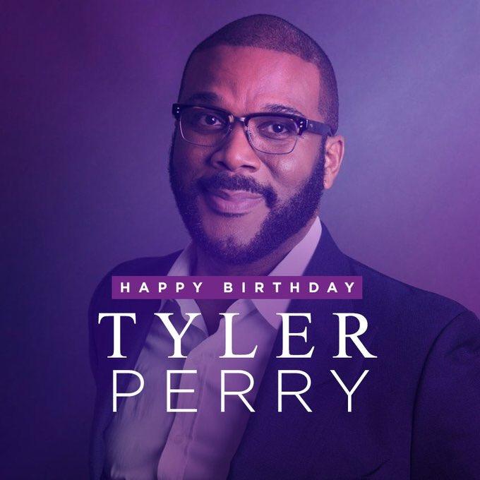 Happy birthday Tyler perry