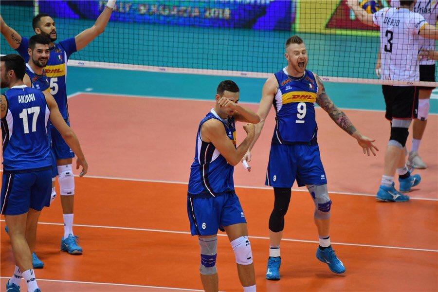 Italia devastante questa sera 3-0 e tutti a casa, avanti così ragazzi @zaytsev mostro sacro #italvolley #italiabelgio #Zaytsev #lanza #juantorena #Giannelli #anzani  - Ukustom