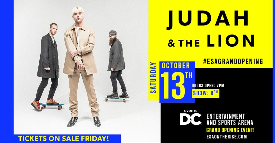 Judah & the Lion's photo on ON SALE NOW