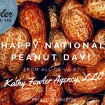Image for the Tweet beginning: Happy National Peanut Day from