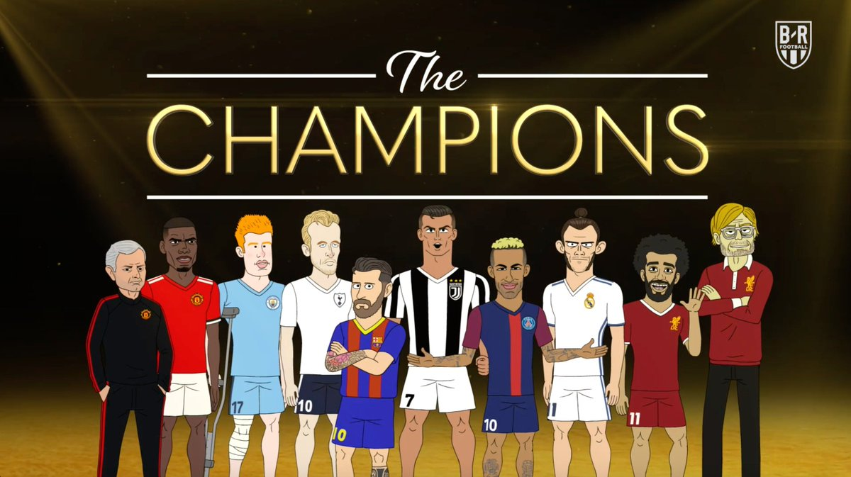COMING SOON: The Champions drops on @brfootball on Monday, 5PM ET, 10PM UK 🌟