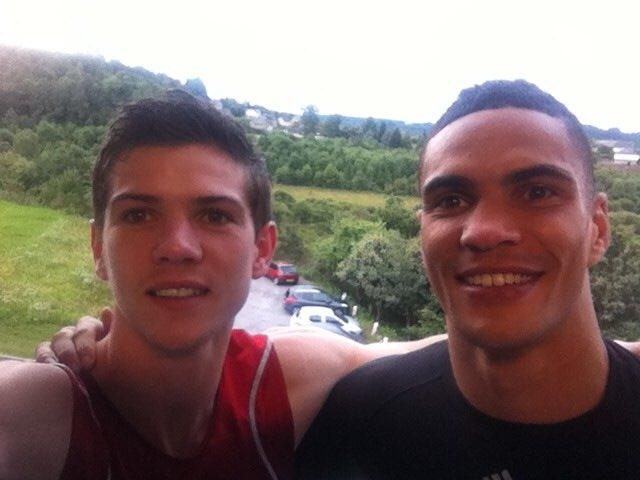 #TBT To me and @luke11campbell travelling the world and taking on, and beating, the best elite international boxers the world had to offer. Looking forward to seeing my man do his thing at Wembley next weekend. #WeAlwaysMedaled #Flat14 #AlwaysSupportingYouBro