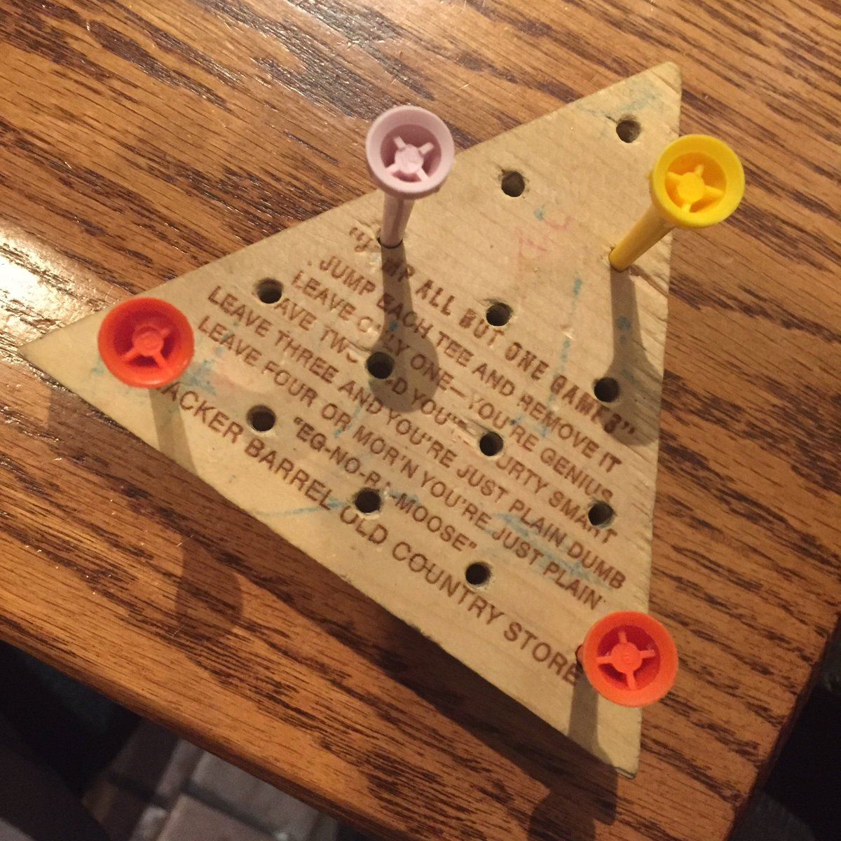 Autar Kaw On Twitter The Game Crackerbarrel Deems Me To Be Eg No Random Number Generator Based Though It Took A Few Hours Write Program Even Had Student And I Graphical Version Of Using