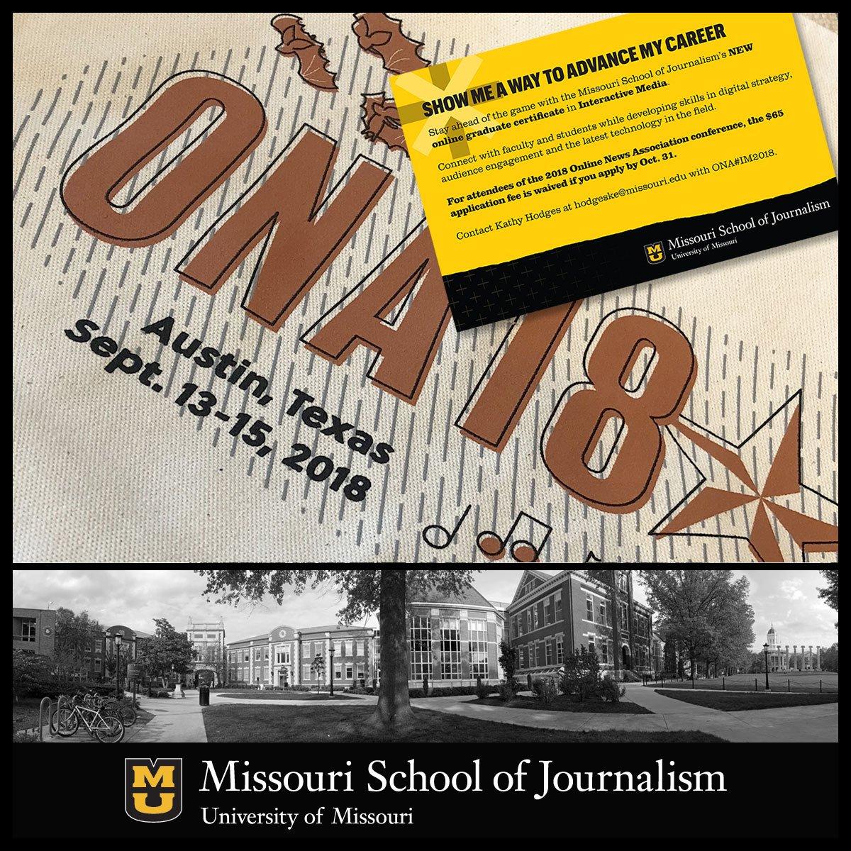 Missouri Journalism Mujschool Twitter
