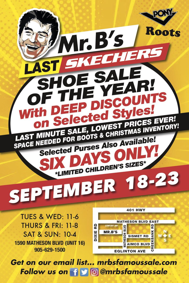 skechers sale mississauga