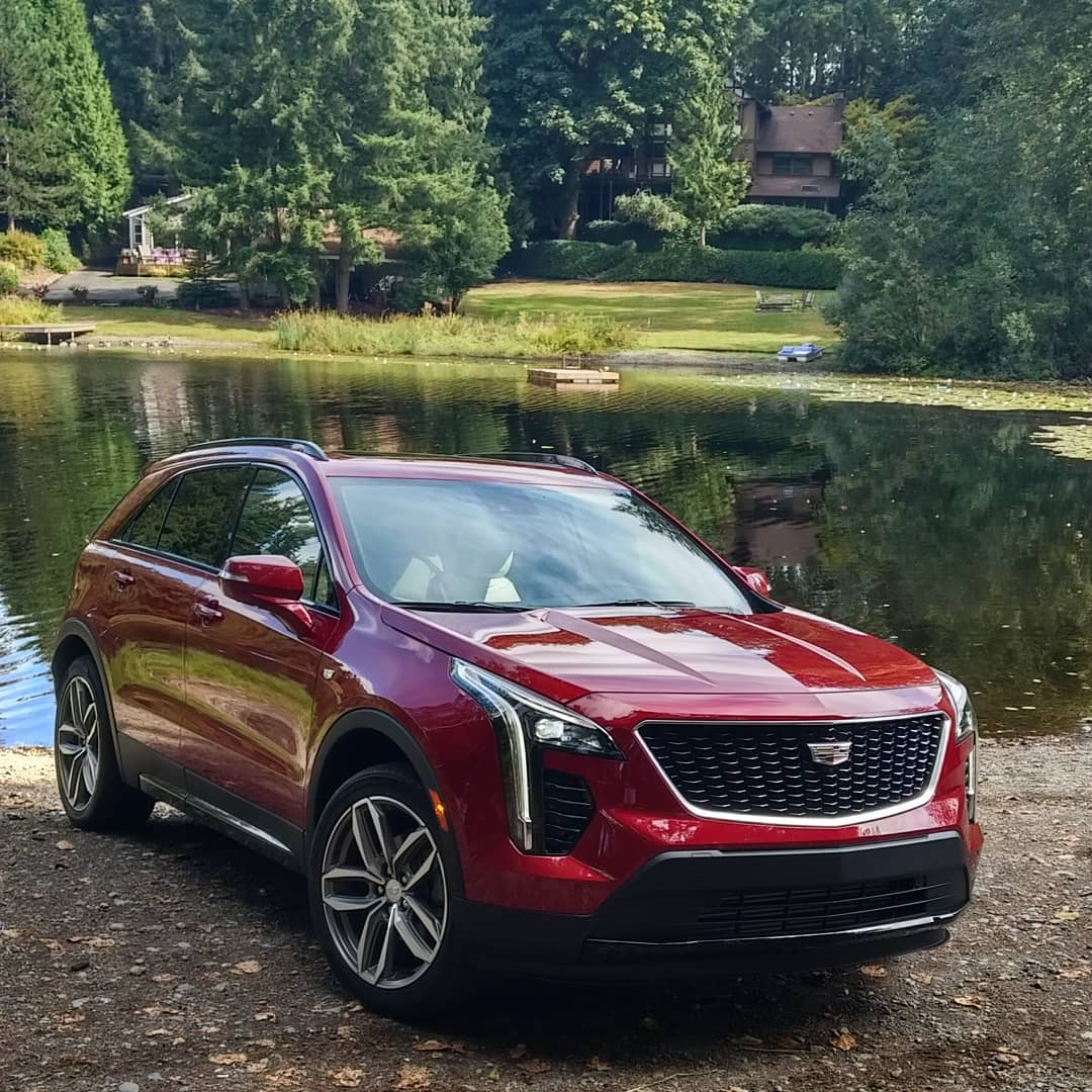 Fall 2018 ready #CadillacXT4 #cadillac #XT4 #Roadtrip #roadtriptothecountry #weekendatthelake #allnew #location #onLocation #PhotoShoot #styleAutos http://UnnamedProject.com  #carstyling @Cadillac