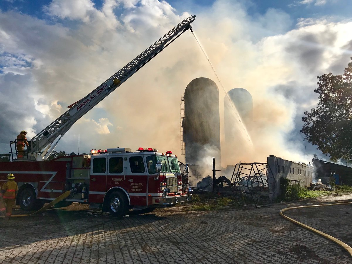 LATEST: Multiple barns destroyed in Locke blaze (photos & video)