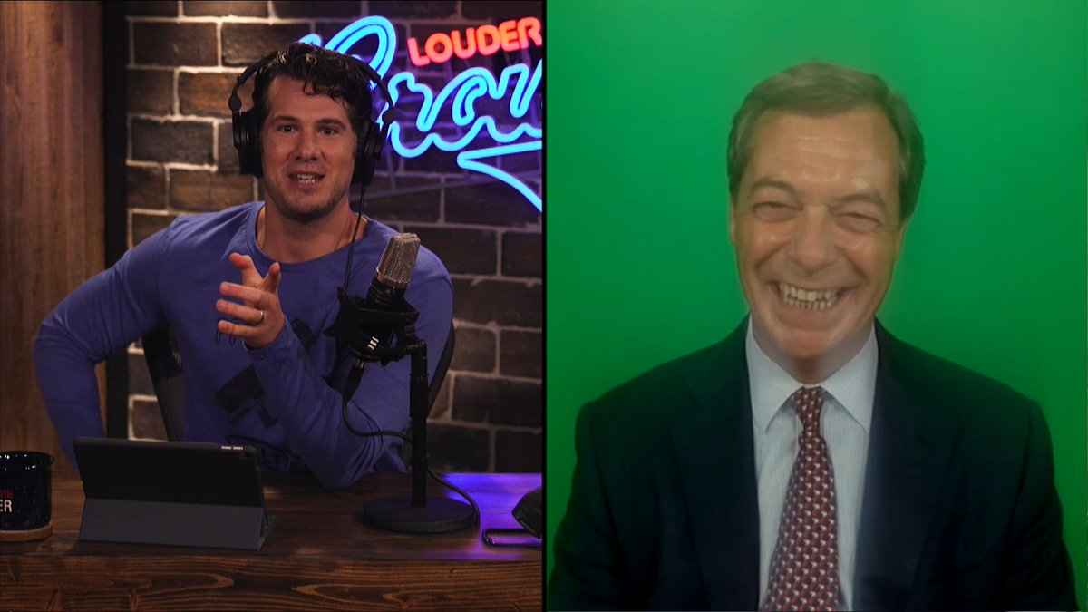 We spoke with @Nigel_Farage about his idea for a Social Media Bill of Rights. WATCH => youtu.be/eSe6tehPKZw?t=… #MugClub #LwC